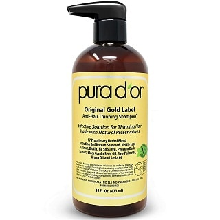 PURA D'OR Original Gold Label Shampoo