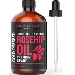 Aria Starr Rosehip Seed Oil Cold Pressed for Face