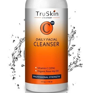 BEST Vitamin C Daily Facial Cleanser By TruSkin Naturals