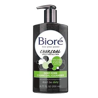Bioré Deep Pore Charcoal Daily Face Wash