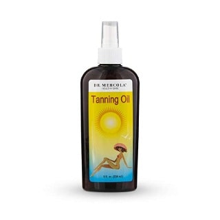 Dr. Mercola Natural Tanning Oil