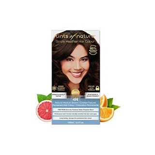 Tints of Nature 4N Natural Permanent Hair Dye