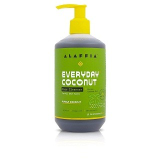 Alaffia Purely Coconut Face Cleanser For All Skin Types