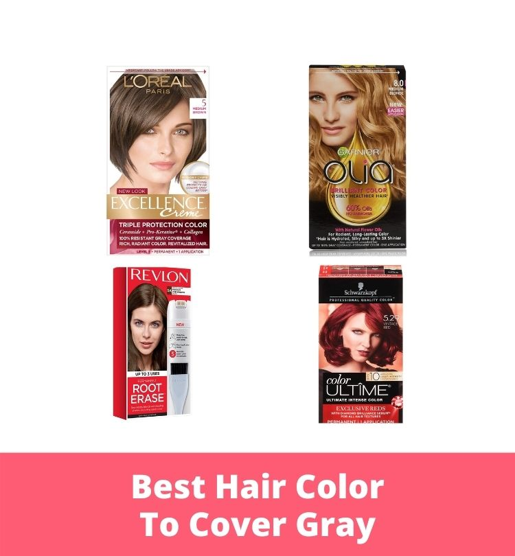 Best Hair Color To Cover Gray