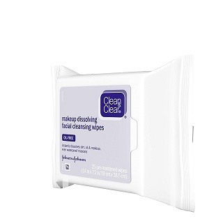 Clean & Clear Makeup Dissolving Cleansing Wipes