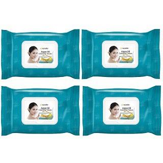 Epielle Argan Oil Makeup Remover Cleansing Towelettes