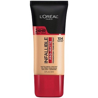 LOreal Paris Infallible Pro-Matte Foundation