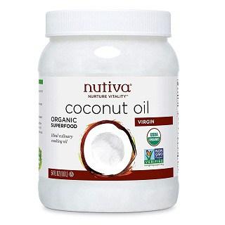 Nutiva Organic Unrefined Virgin Coconut Oil