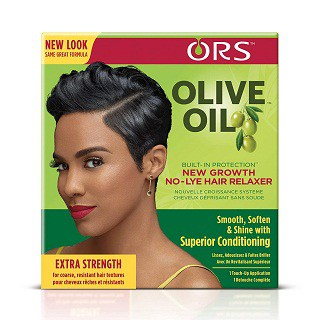 ORS Olive Oil Build-In No-Lye Hair Relaxer