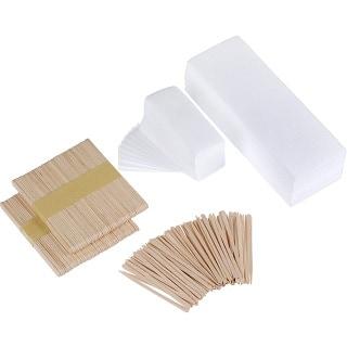 Mudder 200 Pieces Waxing Strip Non-Woven Wax Strip