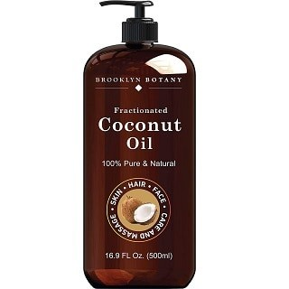 Brooklyn Botany Fractionated Coconut Oil for Skin