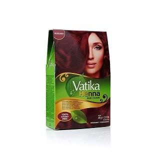 Dabur Vatika Henna Burgundy Hair Color Ammonia-Free