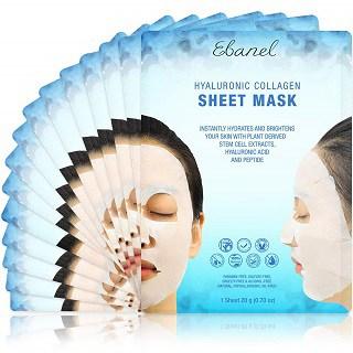 Ebanel Instant Brightening & Hydrating Korean Face Mask