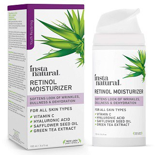 InstaNatural Retinol Moisturizer Anti-Aging Night Cream