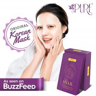 LA PURE Korean Face Mask Hydrating Sheet
