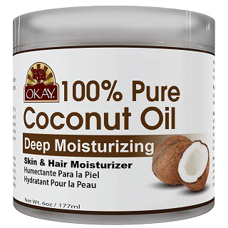 Okay 100 Percent Pure Coconut Oil for All Skin Types