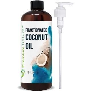 Premium Nature Fractionated Coconut Massage Oil