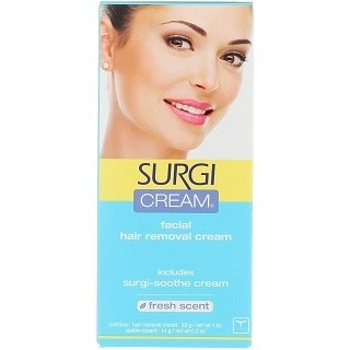 SURGI-CREAM Facial Hair Removal Cream