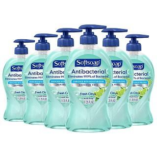 Softsoap Antibacterial Liquid Hand Soap